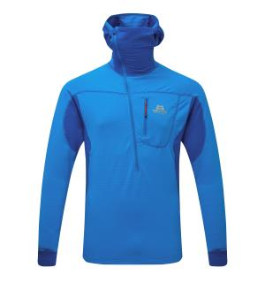 Eclipse Hooded Zip T F.Blue/Lap L