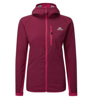 Switch Pro Hooded Wmns Jacket Cran/V.Pink 10