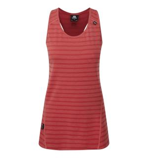Groundup W Vest Poppy stripe 12