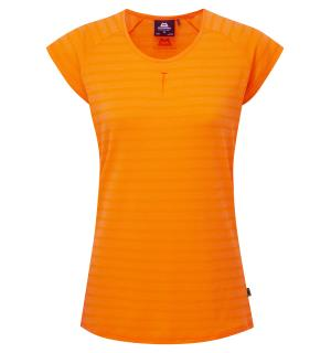 Equinox Wmns Tee Orange Sherbert stri 10