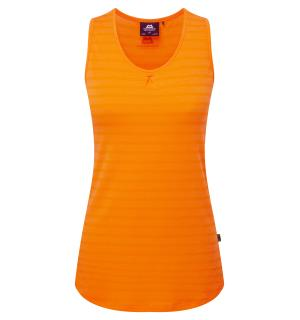 Equinox Wmns Vest Orange Sherbert stri 10