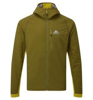 Switch Pro Hooded Jacket Fir Green/Acid L