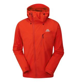 Squall Hooded Jacket Cardinal Orange L