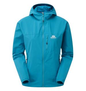 Echo Hooded Wmns Jacket Tasman Blue 8