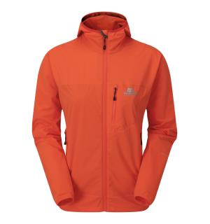 Echo Hooded Wmns Jacket Kumquat 10