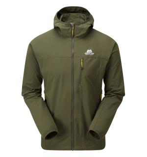 Echo Hooded Jacket Broadleaf M
