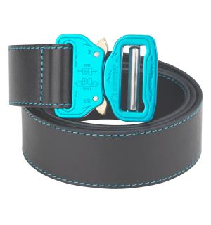 LEATHER BELT black | waist 110cm | L; Co