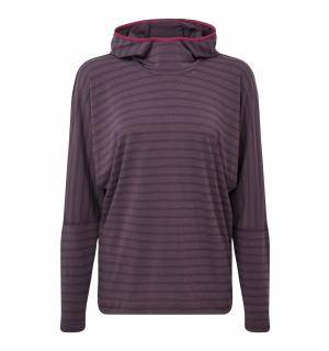 Groundup Wmns Hoody Blackberry stripe 12