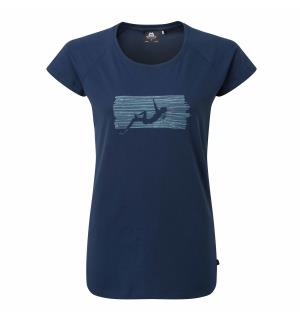 King Line Wmns Tee Denim Blue 10