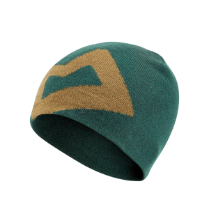 Branded Knitted Beanie Conifer/Fir Green O/S