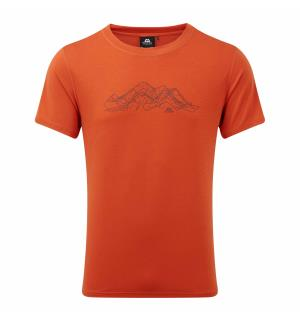 Groundup Mountain Tee Paprika S