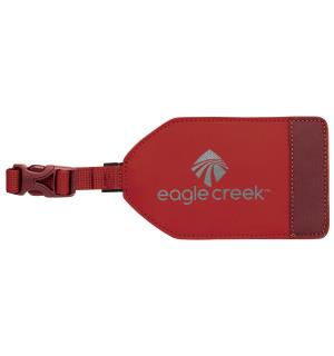 Bi-Tech™ Luggage Tag Firebrick