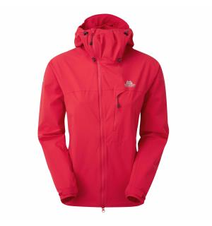 Squall Hooded Wmns Jacket Capsicum Red 10