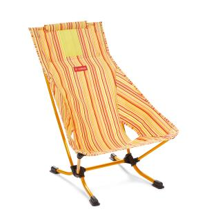 Helinox Beach Chair Red Stripe/Goden Yellow  O/S