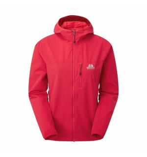 Echo Hooded Wmns Jacket Capsicum Red 12