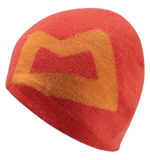 Branded Knitted Beanie Cardinal/Russet