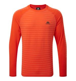 Redline LS Tee, Cardinal Orange, L