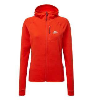 Eclipse Hooded Wmns Jacket Cardinal Orange 10